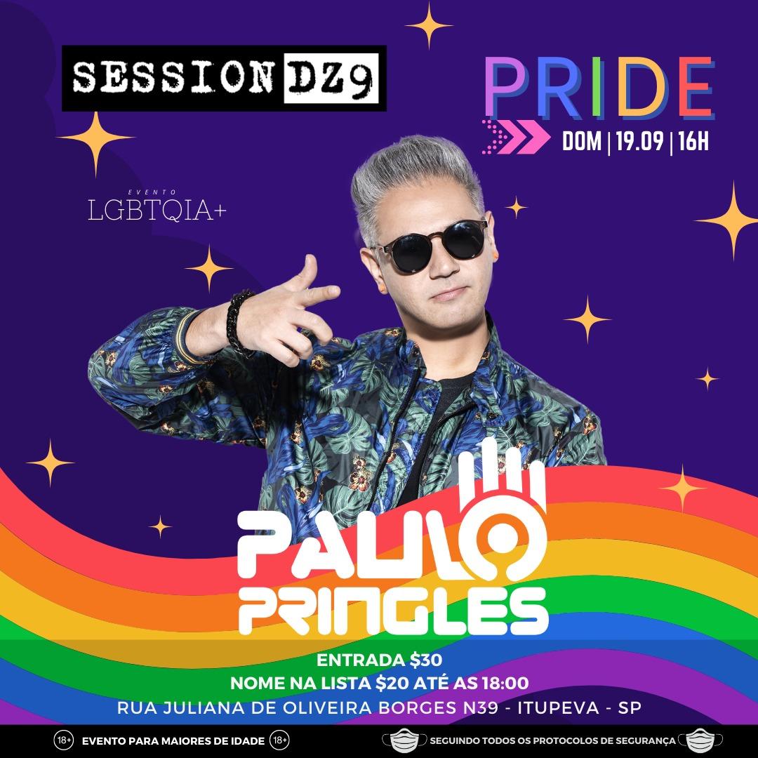 Session Pride LGBTQIA+ em Itupeva SP - Domingo (19)